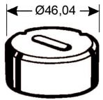 Langlochmatrize Nr. 2   -   6,2 x 10,7 mm