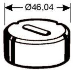 Langlochmatrize Nr. 2   -   6,2 x 19,7 mm
