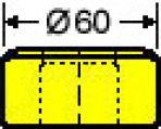 Langlochmatrize Nr. 39    -    14,5 x 36,0 mm