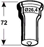 Rundstempel Nr. 3 -   6,5 mm