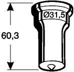 Rundstempel Nr. 5 - 20,0 mm