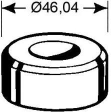 Rundmatrize  Nr. 2    - 10,7 mm