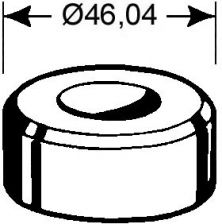 Rundmatrize  Nr. 2    - 13,7 mm