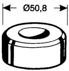 Rundmatrize Nr. 3 - 12,7 mm
