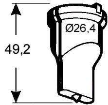 Langlochstempel Nr. 4  - 12,0 x 24,0 mm