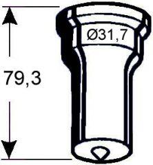 Rundstempel Nr. 272 - 16,0 Ø mm