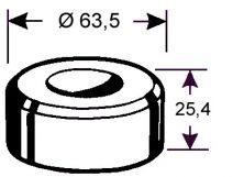 Rundmatrize Nr. 291 - 12,2 Ø mm