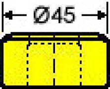 Vierkantmatrize Nr. 38 - 20,7 mm