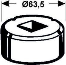 Vierkantmatrize Nr. 4    - 21,7 mm
