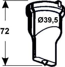 Langlochstempel Nr. 6  -   6,5 x 30,0 mm